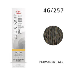 WELLA Color Charm Permanent Gel Color Dark Golden Brown 257