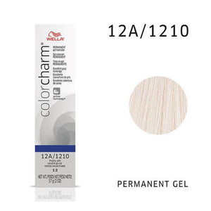 WELLA Color Charm Permanent Gel Color Frosty Ash 1210