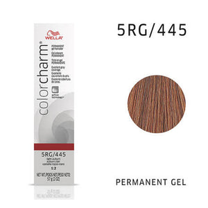 WELLA Color Charm Permanent Gel Color Light Auburn 445