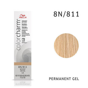 WELLA Color Charm Permanent Gel Color Light Blonde 811