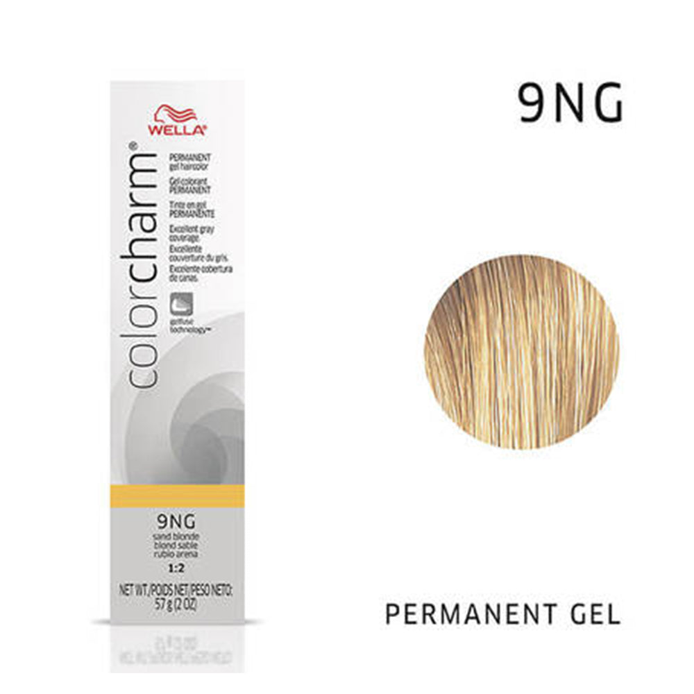WELLA Color Charm Permanent Gel Color Sand Blonde 9NG