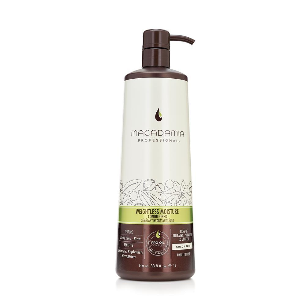 MACADAMIA Weightless Moisture Conditioner (Litre) - TBBS