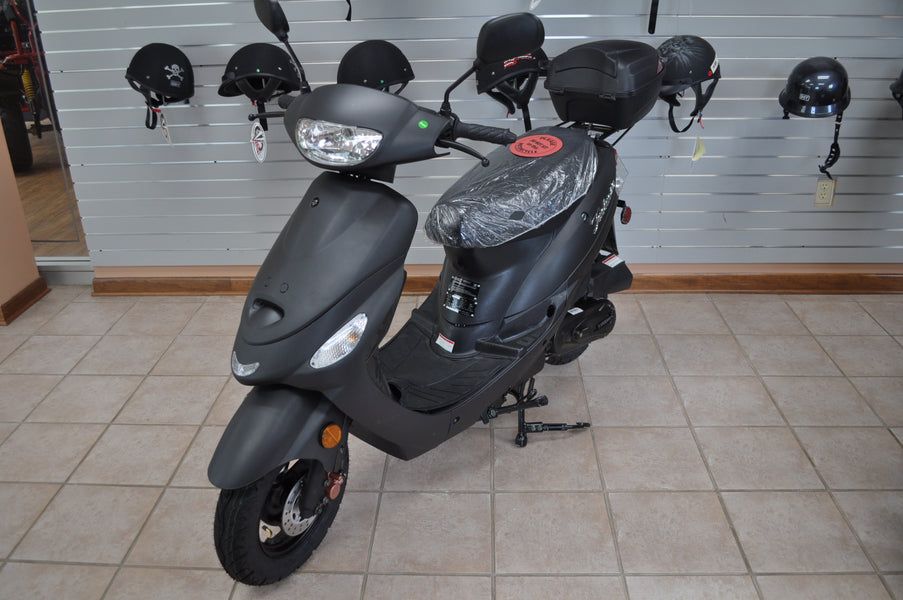 gas Powered 50cc Scooters Coming Back Into Stock the week of Memorial Day
