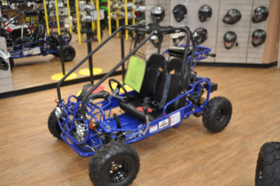 New 110cc Small Gas Powered Kids Go Kart on Sale this Month. Save Over $100