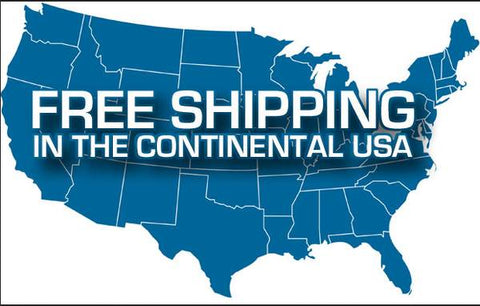 Free residential shipping on all machine orders