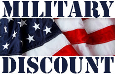 Active and Retired Military Discounts