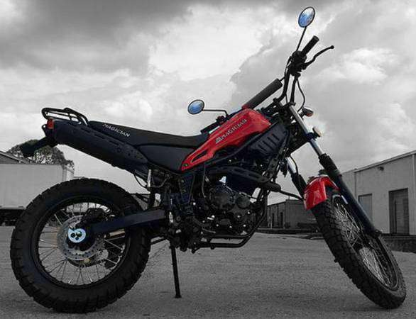 new off road rps magician 250cc dirt bike with free shipping