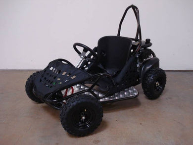 Small Single Seat 80cc Gas Powered Go Kart for Children - Q9PowerSportsUSA.com