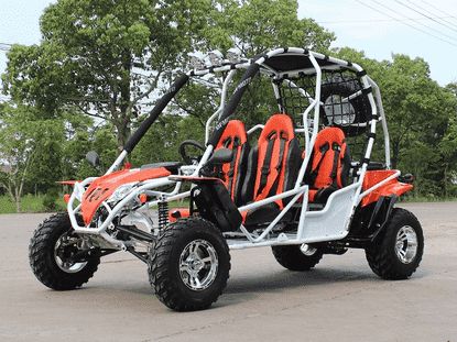 New Off Road Four Seat Rambler 200cc Go karts - Q9PowerSportsUSA