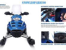 Snow Leopard Snowmobiles for Kids