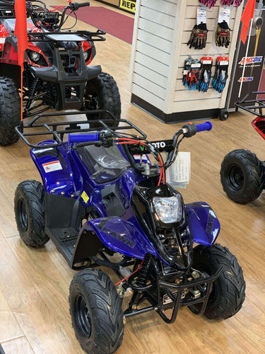 Vitacci HAWK Gas Powered Small 110cc Kids ATV - Q9PowerSportsUSA.com