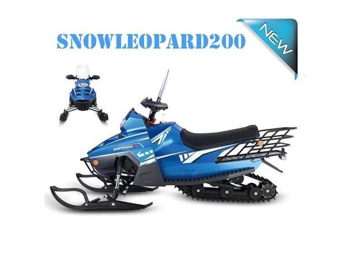 Snow Leopard Gas Powered 180cc Junior Snowmobiles - Q9PowerSportsUSA.com