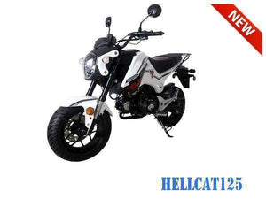 TaoTao Hellcat Gas Powered 125cc Scooter - Q9PowerSportsUSA.com