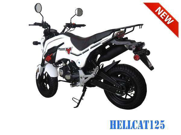 New Hellcat Road Legal 125cc Gas Powered Scooter