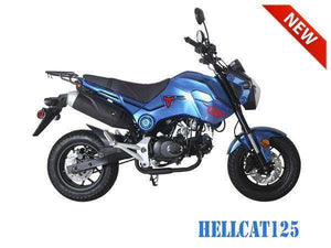Hellcat 125cc Scooters for sale
