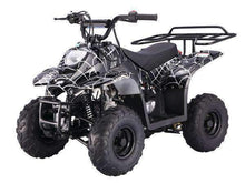 Black Spider web Small Kids ATVs