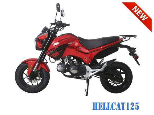 TaoTao Hellcat Gas Powered 125cc Motorcycle - Q9PowerSportsUSA.com