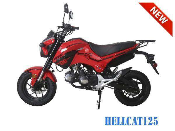 Hellcat 125cc Scooters