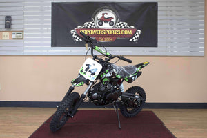 DB14 Gas Powered 110cc Youth Dirt Bike - Q9PowerSportsUSA.com