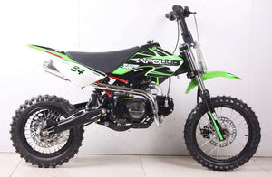 Green 110cc Apollo DB34 Kids Dirt Bikes