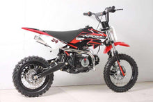 Red 110cc Apollo DB34 Kids Dirt Bikes