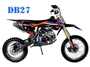 New 125cc TaoTao DB27 Off Road Youth Dirt Bikes - Q9PowerSportsUSA