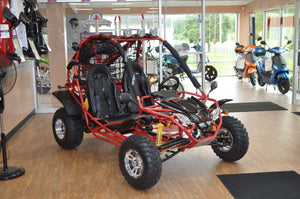 New Double Seater 200cc Rambler Go Kart with Free Shipping