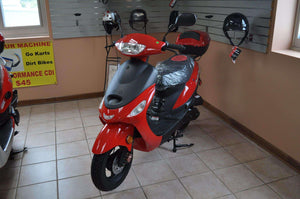 Campus Cruiser Gas Powered 50cc Mopeds - Q9PowerSportsUSA