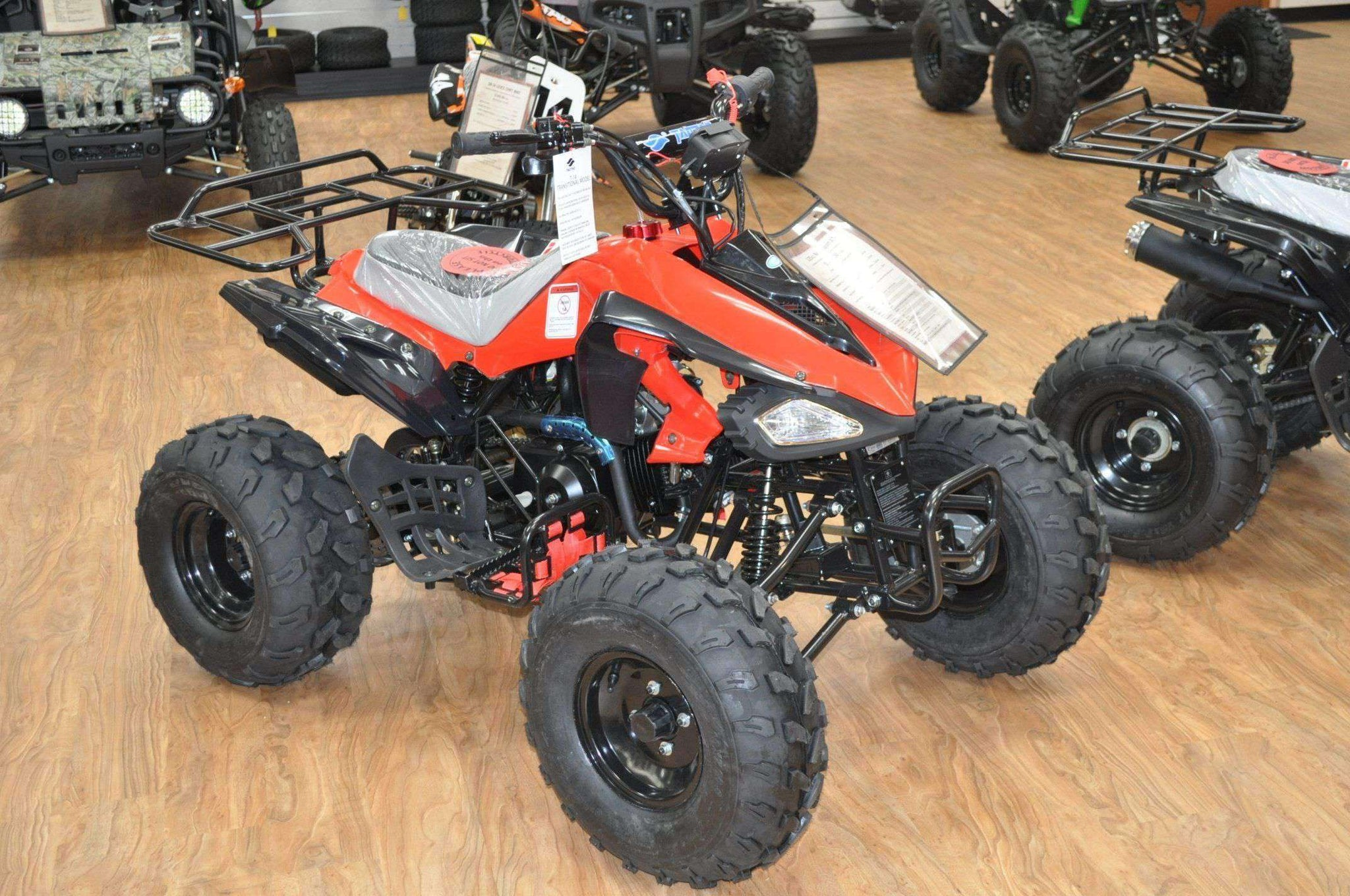 gas powered 125cc youth nitro wheelers four near atv atvs affordable 110cc