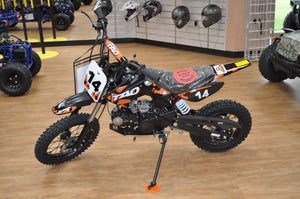 Off Road DB14 Off Road 110cc Youth Dirt Bikes - Q9PowerSportsUSA