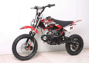 Apollo DB34 Off Road 110cc Kids Dirt Bikes - Q9 PowerSports USA