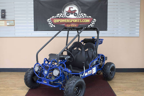 New 110cc Gas Powered small Kids Go Karts - Q9 PowerSports USA