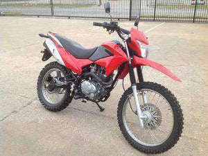 Red RPS Hawk 250 enduro