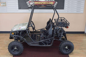 Gas Powered 125cc Double Seat Youth Go Karts