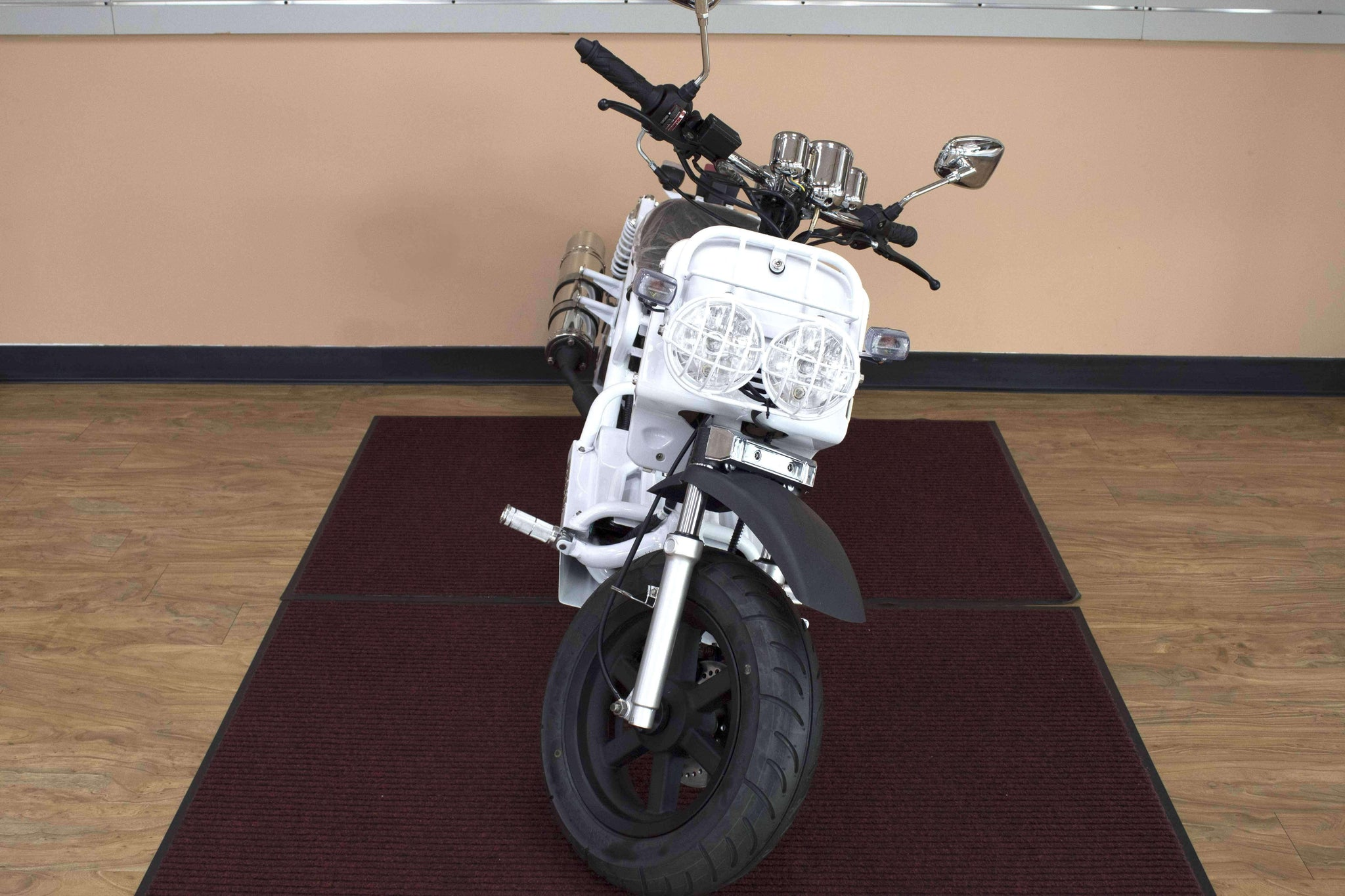 These 50cc Maddog Moped are a fraction of the cost of a