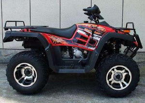 Red Monster 300cc 4x4 ATVs for sale cheap