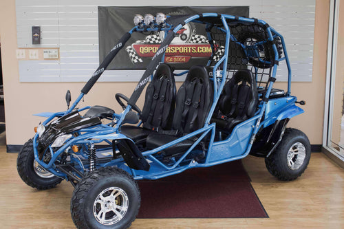 New Off Road Four Seat Rambler 200cc Go karts - Q9 PowerSports USA