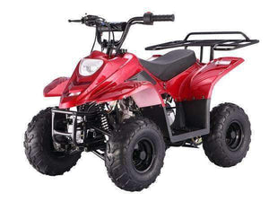 Red 110cc Small Kids ATVs