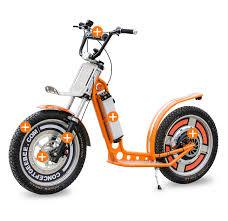 Orange GeeBee Electric Scooter