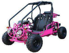 Pink 110cc Double Seat Kids Go Karts