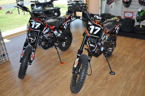 DB17 Gas Powered 125cc Off Road Dirt Bikes - Q9PowerSportsUSA.com
