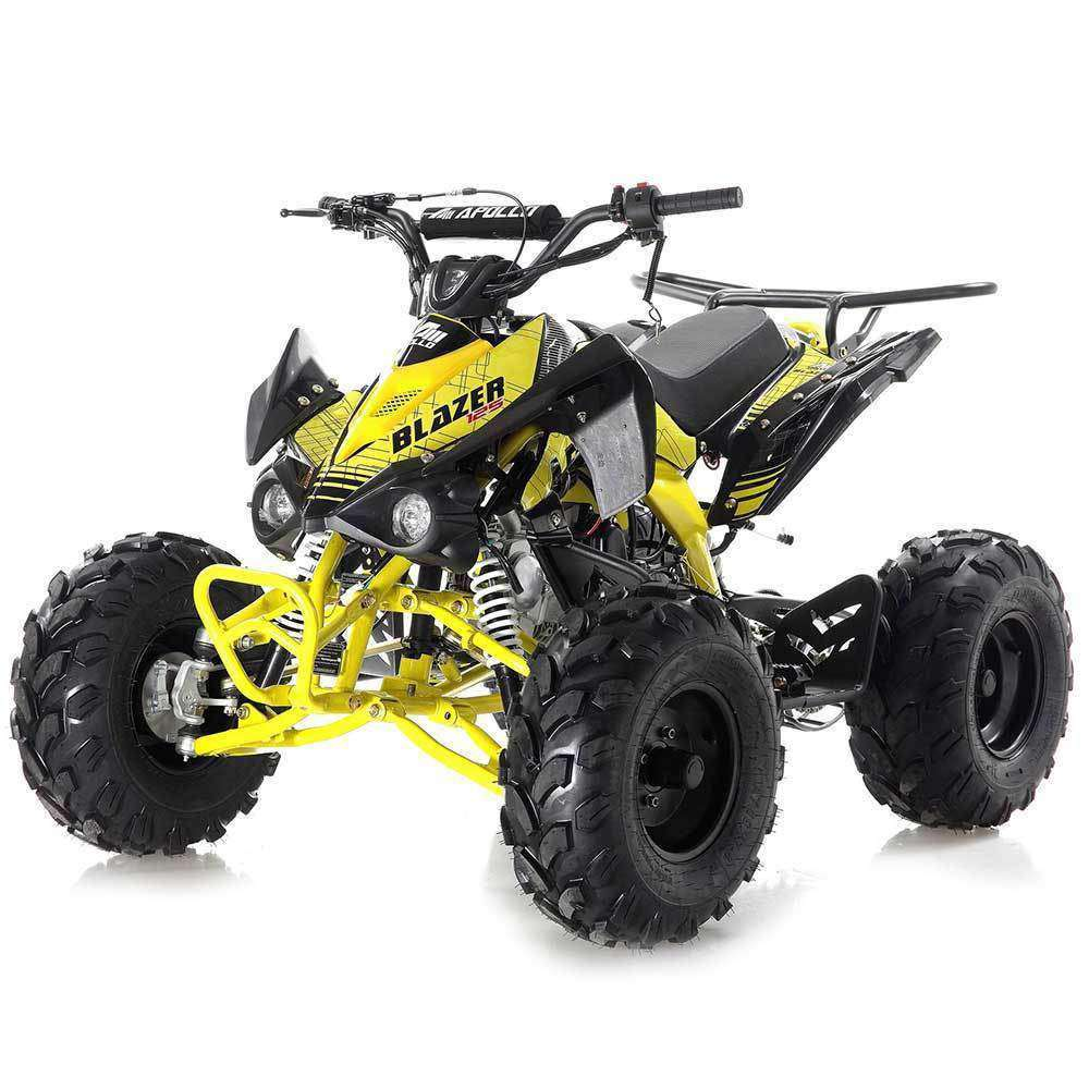 125cc Atv For Sale >> New Apollo Blazer 125cc ATV Youth 4 wheeler for kids
