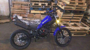 Blue RPS Magician 250cc Enduro Motorcycles