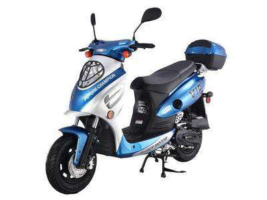New 2019 Retro Metro Gas Powered 50cc Mopeds - Q9PowerSportsUSA.com