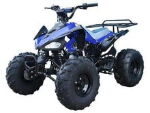 Blue Nitro 125cc Youth Four Wheelers