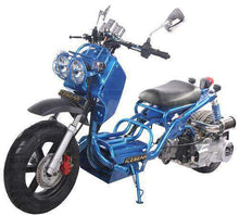 Blue 150cc Maddog Scooters