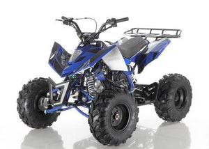 Blue Apollo Sniper 125 ATV with free shipping
