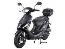 Black Campus Cruiser Gas Powered 50cc Mopeds - Q9PowerSportsUSA