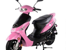 Pink gas powered 50cc Scooters