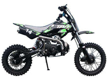 Green Taotao DB14 Youth 110cc Gas Powered Dirt Bikes
